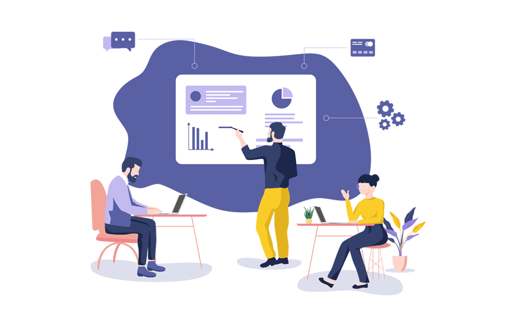 Teamwork Illustration - HR for Non HR Managers