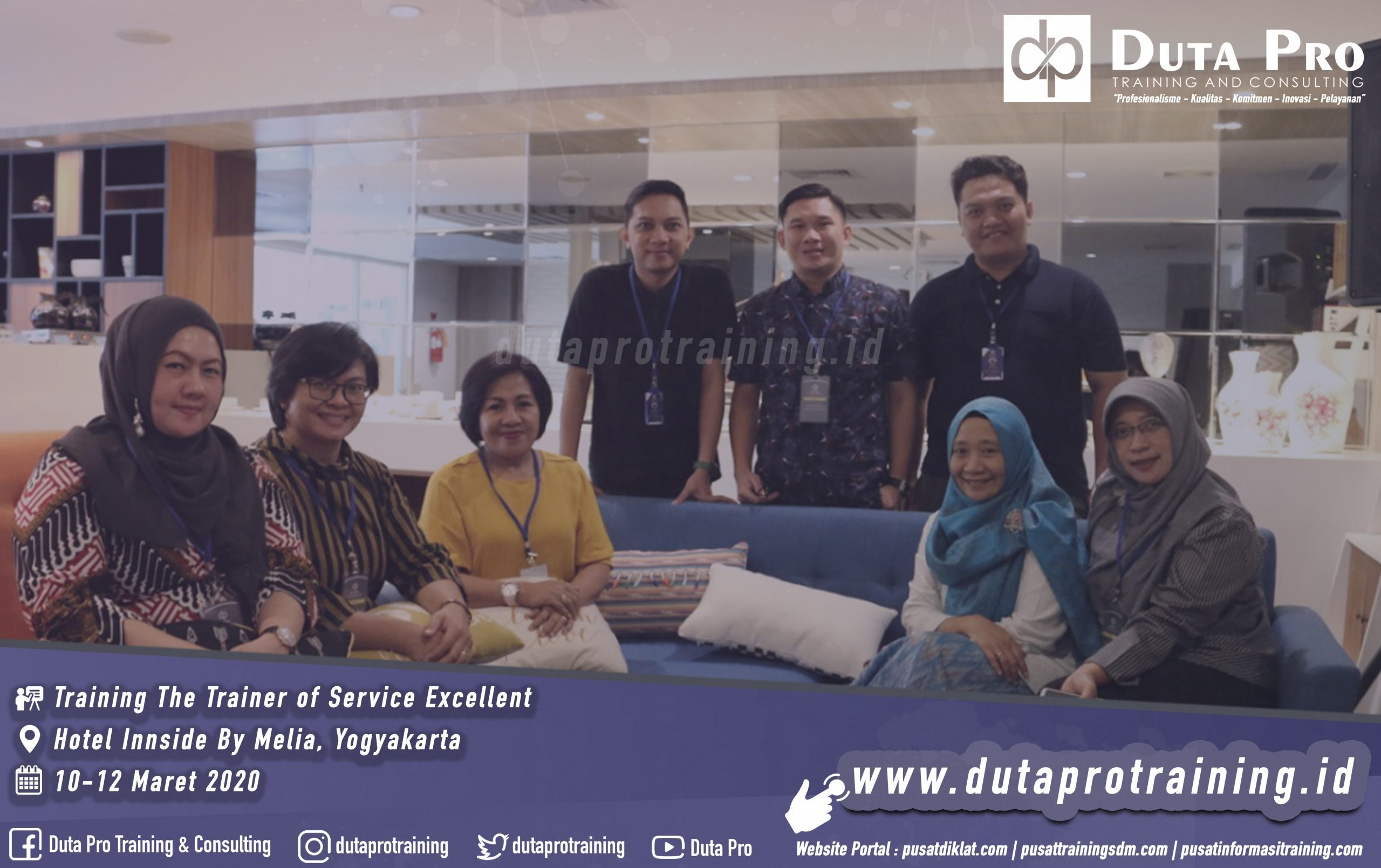 Training The Trainer of Service Excellent Hotel Innside By Melia jogja scaled 2559x1609 - Training Business Process Management Berbasis ISO 9001:2008 dan SO