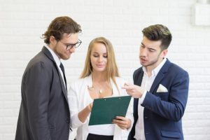group young business coworkers team discussion corporate work concept office business team work together 1150 2748 300x200 - Training Legislative Drafting