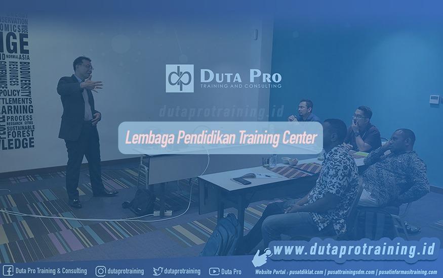 Lembaga Pendidikan Training Center Duta Pro Training Galeri Website sdm