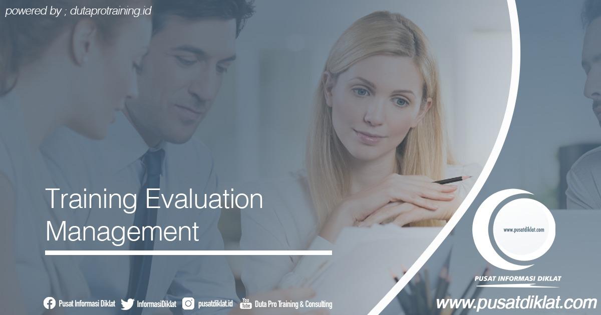 Training Evaluation Management Informasi Jadwal Training Diklat SDM Jogja Jakarta Bandung Bali Surabaya