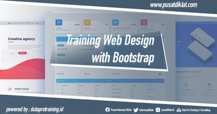 Training Web Design with Bootstrap Informasi Pusat Pelatihan Diklat SDM Jogja Jakarta Bandung Bali Surabaya