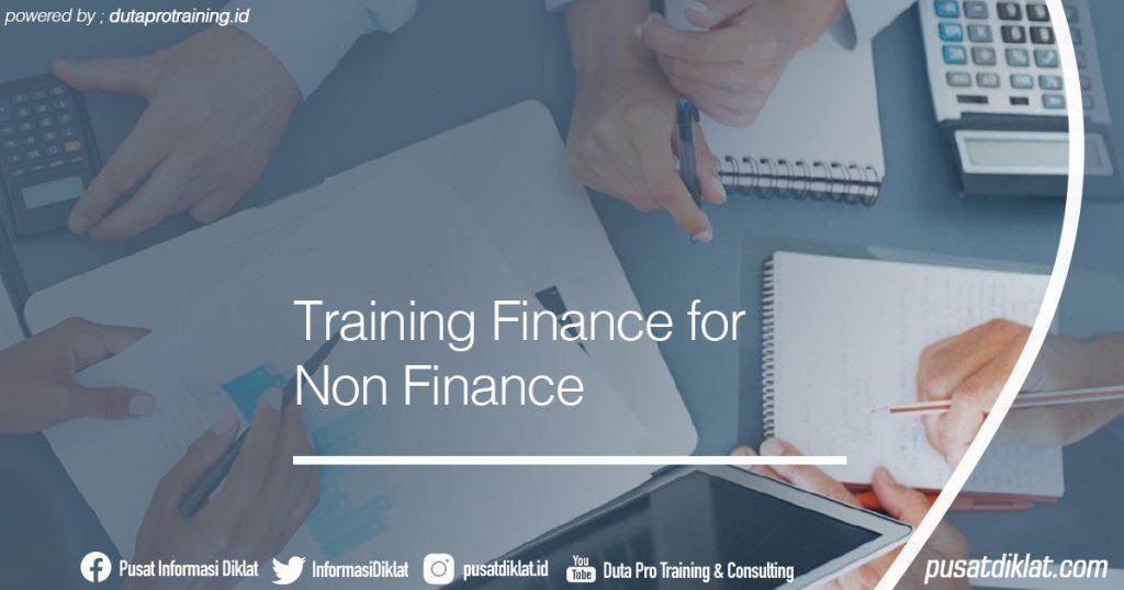Training Finance for Non Finance Informasi Jadwal Training Diklat SDM Jogja Jakarta Bandung Bali Surabaya