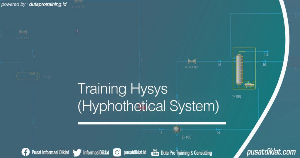 Training Hysys (Hyphothetical System) Informasi Jadwal Training Diklat SDM Jogja Jakarta Bandung Bali Surabaya