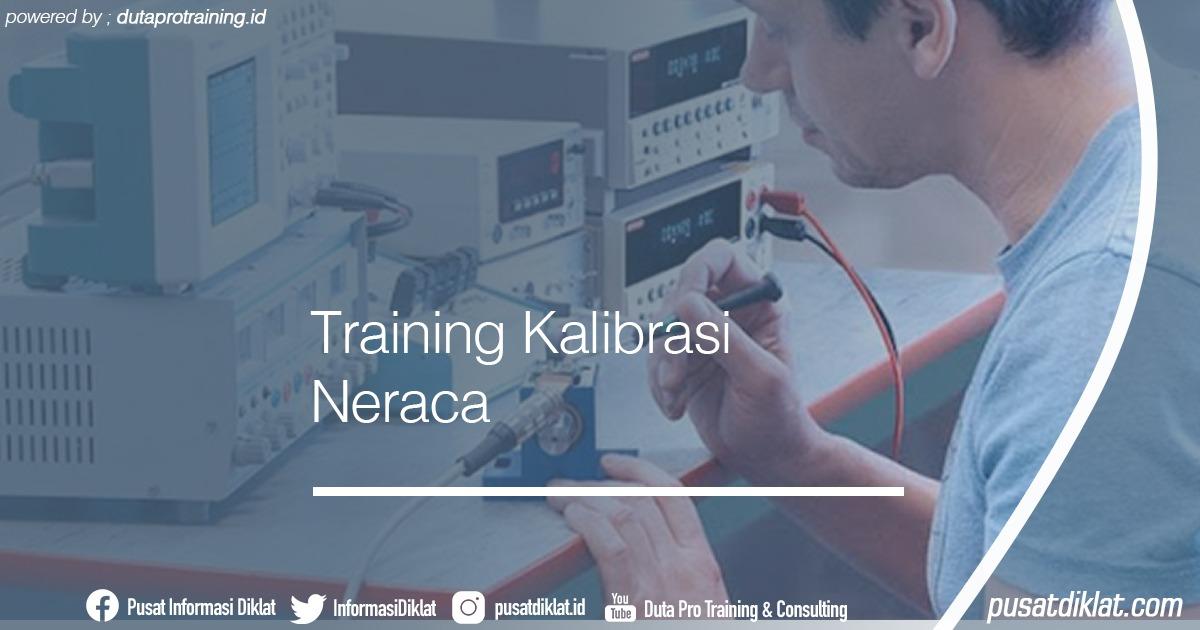 Training Kalibrasi Neraca Informasi Jadwal Training Diklat SDM Jogja Jakarta Bandung Bali Surabaya